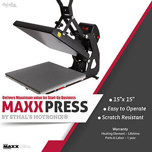 Stahls Hotronix Maxx Clam Heat Press 15 Quot X 15 Quot Free Fedex