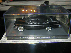 James-Bond-Car-Collection-ISSUE-123-PLYMOUTH-SAVOY-V-RARE-BRAND-NEW-condition