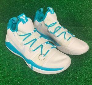 Nike-Kobe-AD-TB-Exodus-White-Blue-Teal-Men-s-Size-11-5-AT3874-116-Shoes-NEW