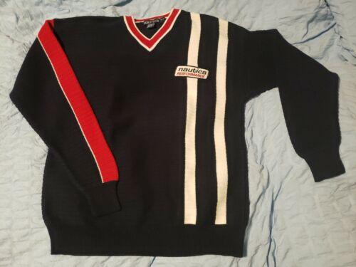 Vintage 90's Nautica Performance M Sweater V Neck