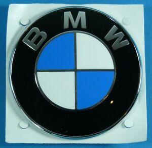 bmw emblem kofferraum 77mm bmw e31 e65 e66 x5 z3 hinten seitlich ebay. Black Bedroom Furniture Sets. Home Design Ideas