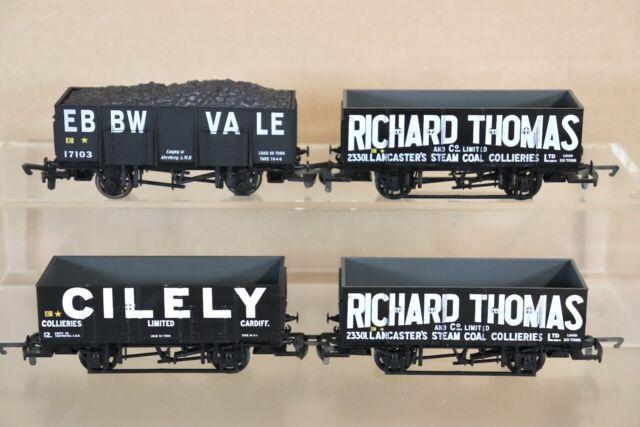 Dapol Unpainted Wagons Plastic Model OO Gauge 1//76 Scale Railway Track BNIB