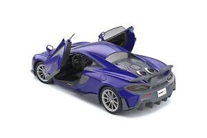 1:18 McLaren 600LT diecast model car 18 orange or purple SOLIDO 1804501 1804502