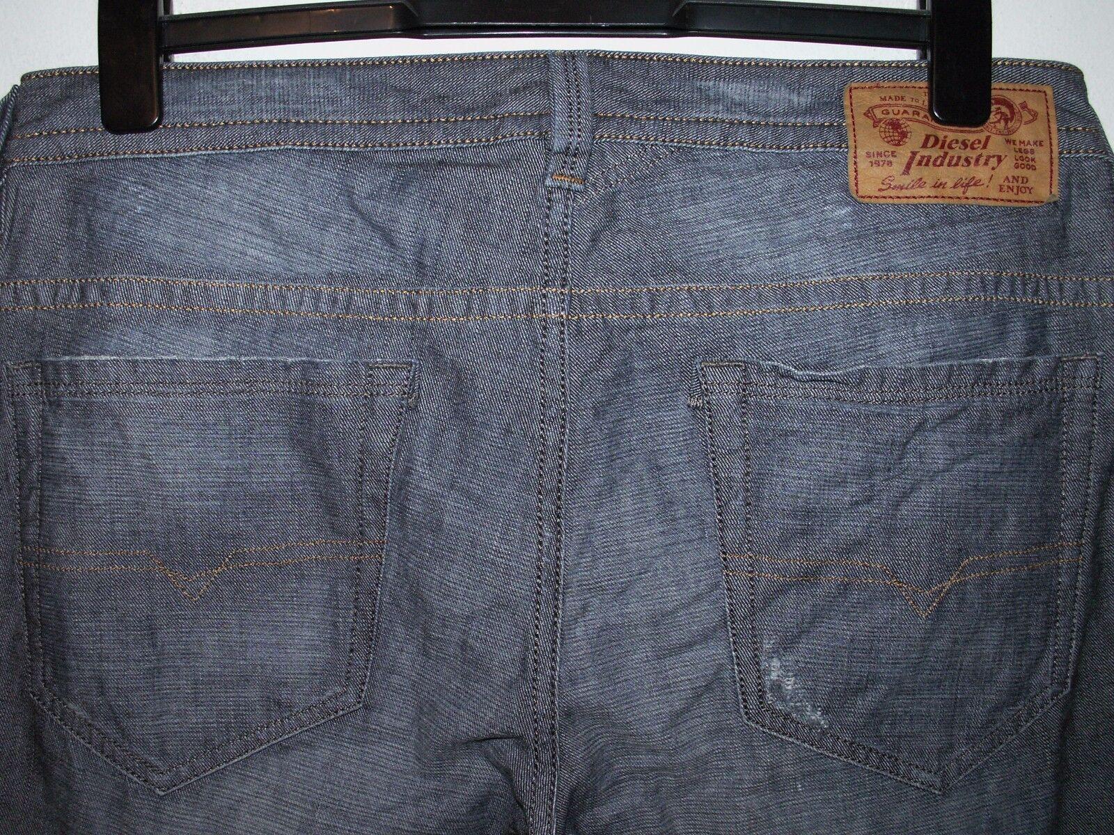 Diesel thavar slim-skinny fit jeans wash 0R7R8 W33 L32 (a2870)