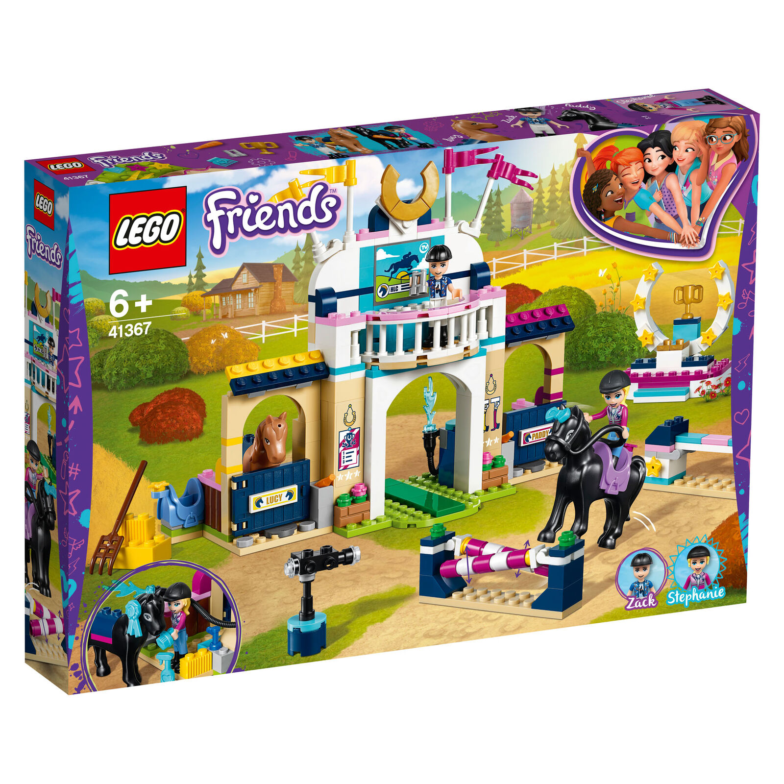 41367 LEGO Friends Stephanie's Horse Jumping 337 Pieces Age 6+ New Release 2019
