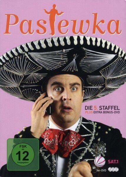 "BASTIAN PASTEWKA ""PASTEWKA 5. STAFFEL"" 3 DVD NEU"