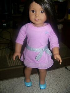American Girl Doll 66 Truly Me with black// brown hair and brown eyes