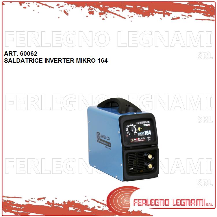 Schweißgerät Wechselrichter Mikro 164 C   von Kit Löten Ass. 3,20KW Art. 60062