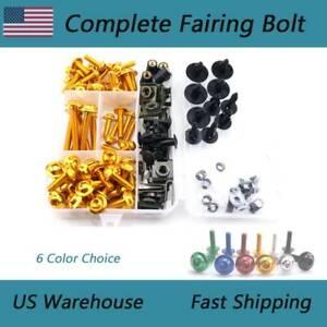 Complete Fairing /& Screen Bolt Kit For Honda CB650F CBR650F CBF1000A CBR600F4i
