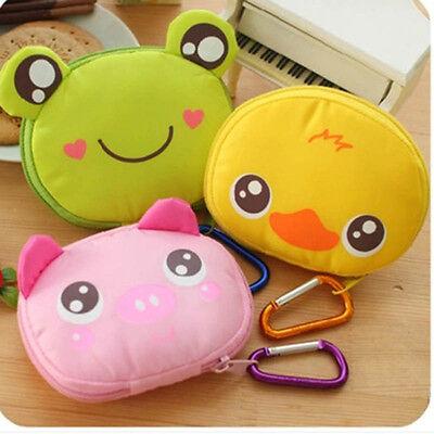 1PC Hot Cute Cartoon Foldable Reusable Eco Shopping Tote Bag Accessories Handbag