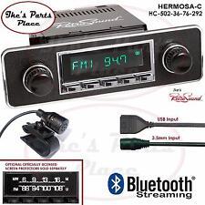 RetroSound Hermosa-C Radio/Bluetooth/USB/Mp3/3.5mm AUX-In 4 ipod-502-36-VW