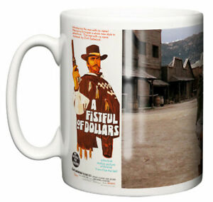 Clint Eastwood, Classic Movie Poster Scene Fistful of Dollars, Coffee Mug Gift