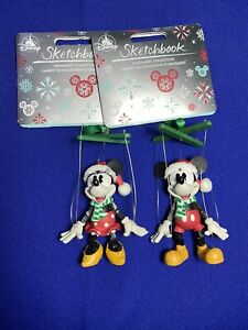 DISNEYLAND Resort Mickey /& Minnie Mouse Photo Frame Ornament Xmas 2020 NWT