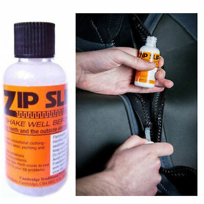 Zip Slip Beeswax Zip Lubricant For All Zips Including Wet and Dry Suits 50ml