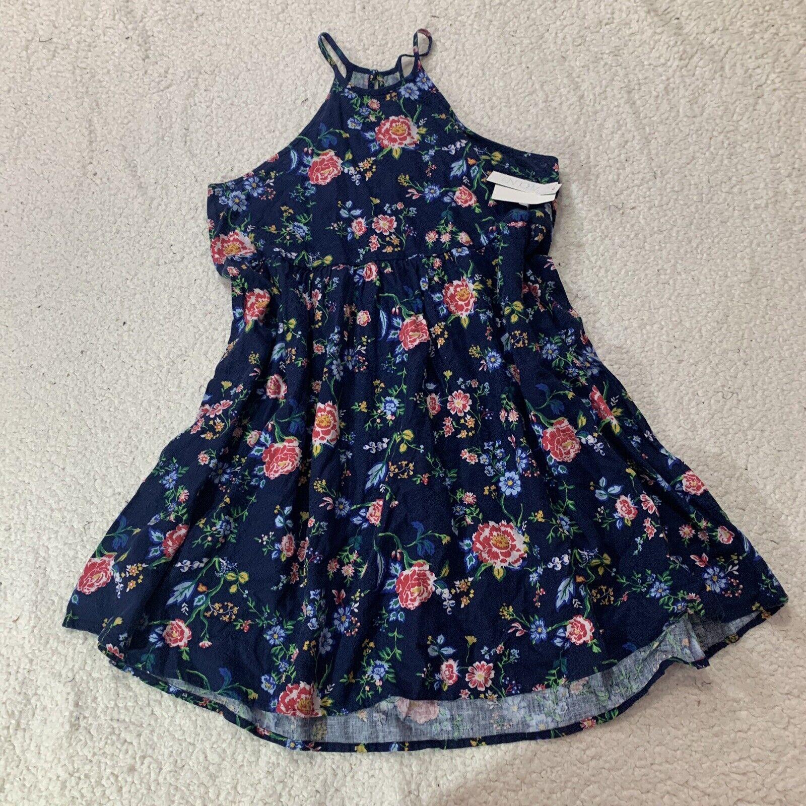 Abound For Nordstrom Womens Dress Linen Blend Floral Sleeveless Size Medium M