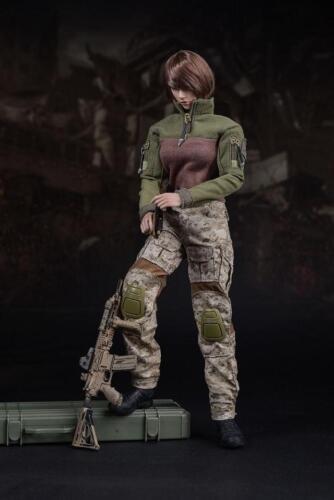 1:6 Scale US Navy Seals Female Combat Suit Clothes F 12'' Action Figure Doll