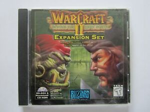 Warcraft II: Beyond the Dark Portal Expansion PC CD-ROM Fantasy Strategy