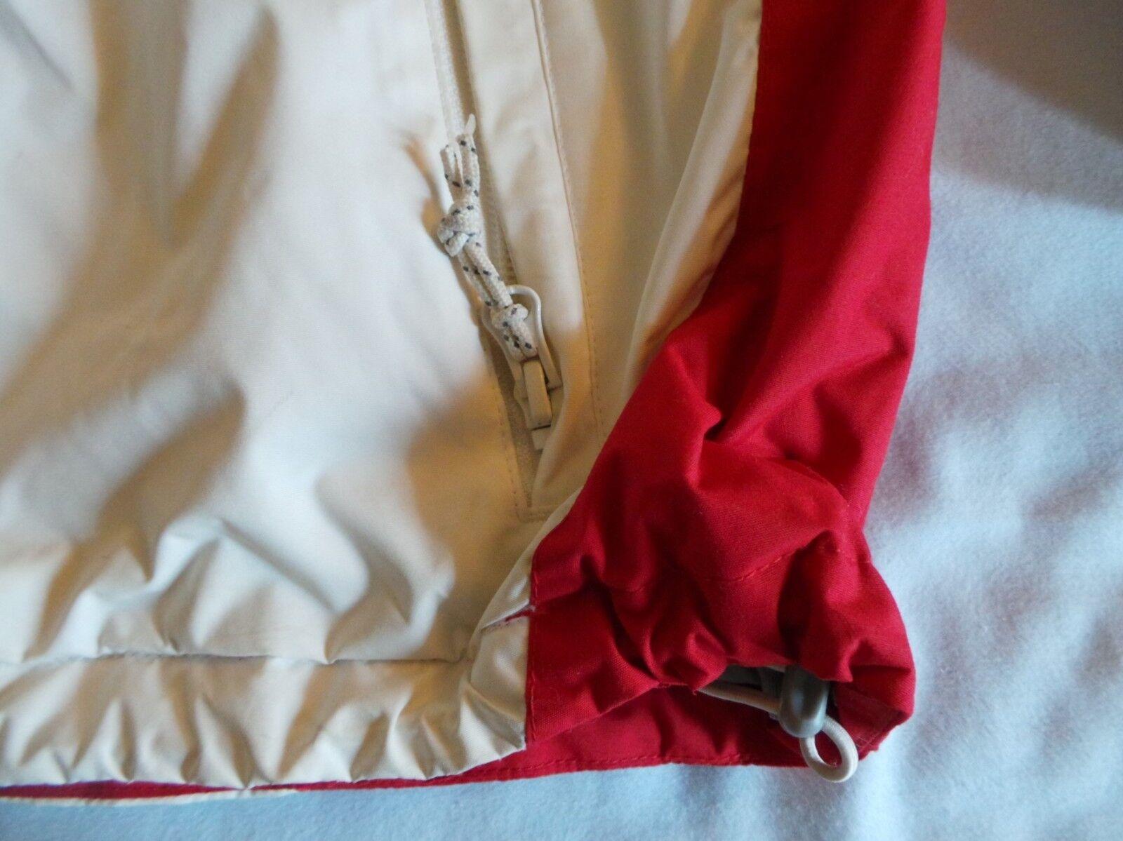 Columbia Columbia Columbia Sportswear Omnitech jacjket Blanco Rojo Gris Gris 2XL XXL usado en excelente estado precio de venta sugerido por el fabricante 260 560eb7