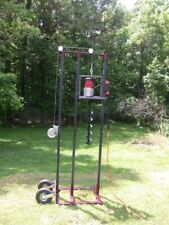 Drilling Rig Electric Complete Drilling System With19 Of Rods And Auger Head