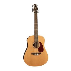 seagull coastline cedar 12 12 string acoustic guitar silver leaf maple neck sg 623501029365 ebay. Black Bedroom Furniture Sets. Home Design Ideas