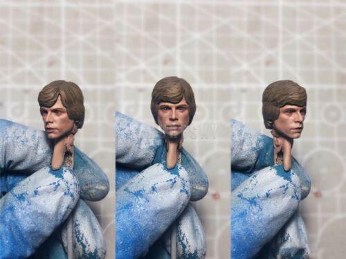 Painted Service 1//12 EP 6 Luke Skywalk Star Wars Head Sculpt fit Figure SHF