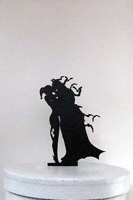Wedding Cake Topper - Batman and Harley Quinn cake topper