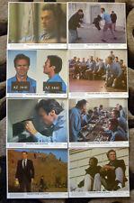 Escape From Alcatraz. Clint Eastwood. U.S Lobby Cards.