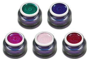 Premium-Glitter-Farb-UV-Gel-Summernight-Glittergel-Pink-Rose-Rot-Blau-5ml-00562