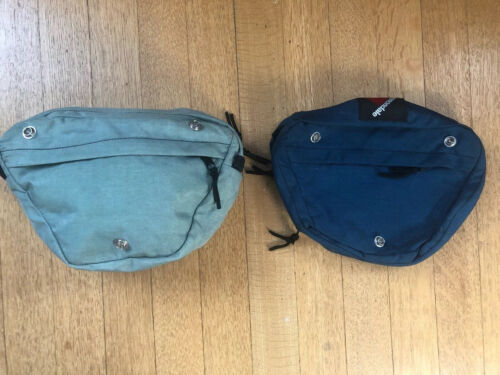 Vintage CANNONDALE BX20 Handlebar Bag in Blue or Gray  Made in USA