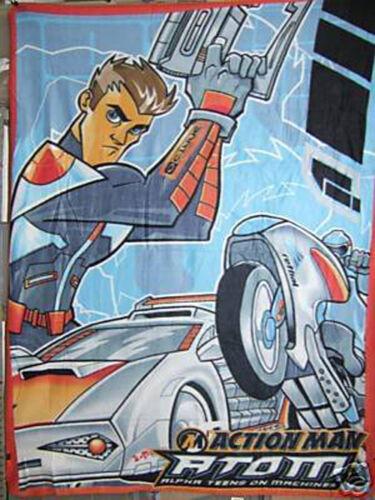 TV Theme Enfants Couverture Polaire-Action Man Atom