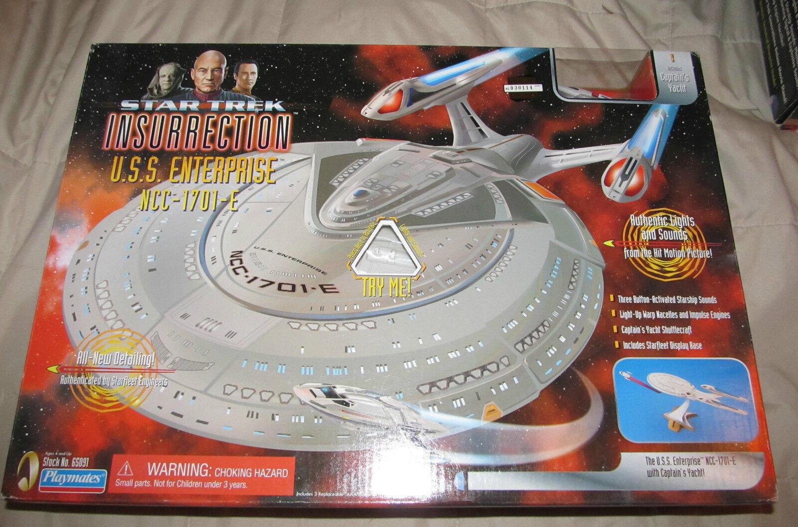 STAR TREK Insurrection U.S.S. ENTERPRISE NCC-1701-E  MIB 1998 Playmates