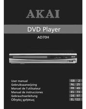 akai ad200h dvd player ebay rh ebay com akai 9 portable dvd player manual Akai Portable DVD Player 7
