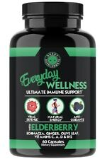 Everyday Wellness: VITAMIN C  ZINC  ELDERBERRY ECHINACEA 12 in 1 IMMUNE SUPPORT