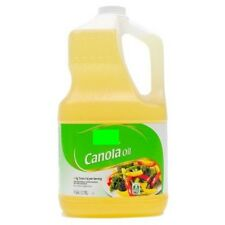 💗 Great Value 100% Pure Canola Oil 1 gallon Cooking Frying Fryer Oils 3.78L