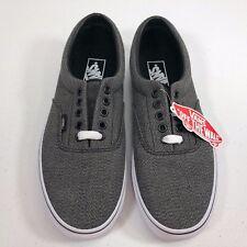 c7a9193ace VANS Era Cup Leather Black Low Top Skate Shoe Sz US M 8 US W 9.5 for ...