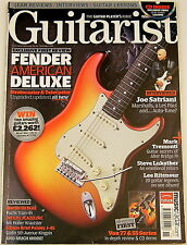 GUITARIST MAGAZINE November 2010 Fender Joe Satriani Marshall Martin Gibson VOX