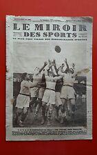 Le Miroir des Sports 398 du 1/11/1927