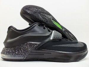 buy popular 3a1ae b34ce Image is loading NIKE-KD-VII-7-ID-KEVIN-DURANT-BLACK-