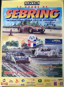 sebring poster 1992