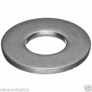Flat Washers M3 M4 M5 M6 M7 M8 M10 M12 M14 M16 Stainless Steel A2 - 10 pack