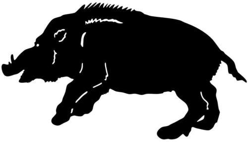 Wild Hog Decal #33MD Boar Hunting Truck Window Sticker