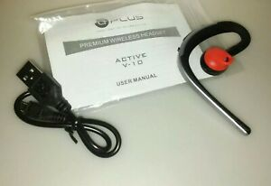 Universal Bluetooth Headset 180 Rotating Earpiece Compatible W Iphone Samsung Ebay