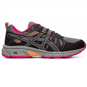 Marken Schuhe Online Damen Asics Gel Venture 5 Silber Grau