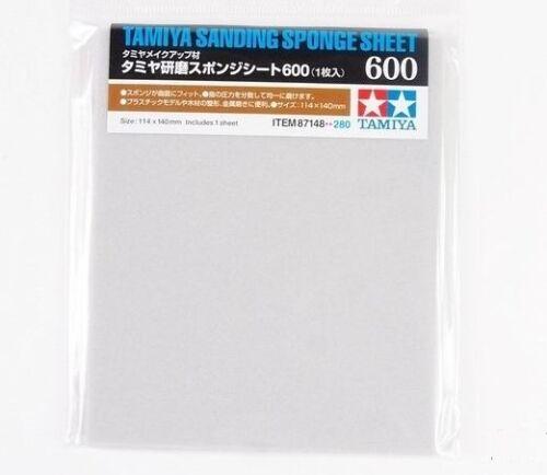 Tamiya Sanding Sponge Sheet Paper Finishing Material Plastic Model Craft Tools