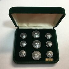Waterbury Trout Blazer Button Set Sport Coat Buttons The Angler Silver Fish