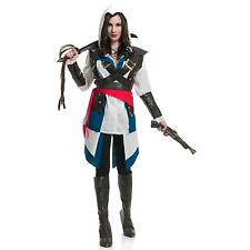 NEW! CUTTHROAT PIRATE GIRL ASSASSIN M Charades Deluxe Women's Creed Costume