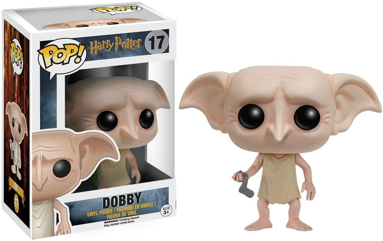 Funko POP Movies: Harry Potter Action Figure - Dobby #6561 17 NEW FREE SHIPPING