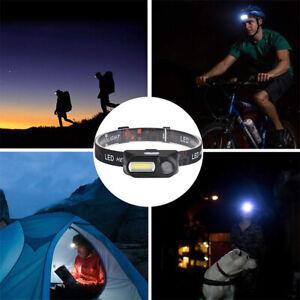 LED-Headlamp-Headlight-COB-Flashlight-USB-Rechargeable-Torch-18650-Battery-CHY