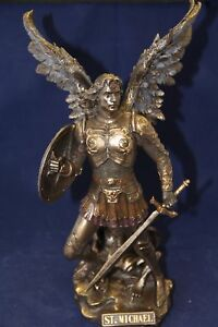 Statue-St-Michael-Bronze-Finish-12-5-034