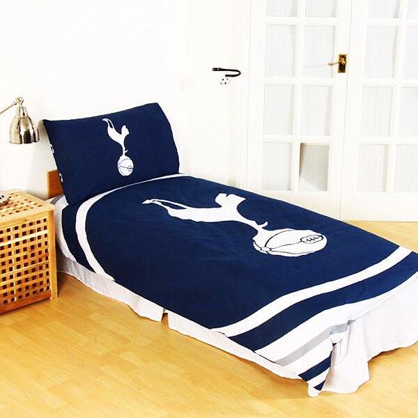 Tottenham Hotspur FC Set a impulsi Reversibile Singolo Set FC Copripiumino Doppio Regalo di Natale 5e9789